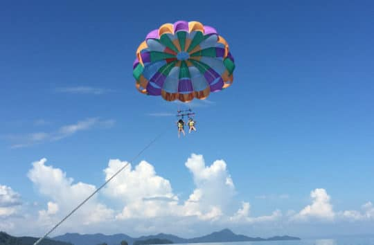 Parachute Thrill At Kayaking Langkawi